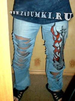 Cheap Monday Bleach Paint Skinny Jeans Брюки в разделах: выкройка брюк...