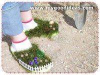 Садово-огородные туфли (hand made)