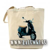 Сумка для фанатов Vespa.  Hand made сумки.