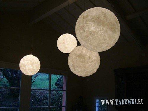 Луна светильник своими руками